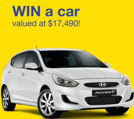 Have you entered to WIN a car? - Arundel Plaza